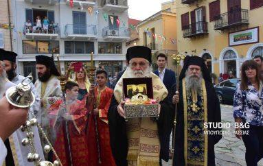 Το Ναύπλιο υποδέχθηκε την Τιμία Κάρα του Οσίου Δαβίδ (ΦΩΤΟ – ΒΙΝΤΕΟ)