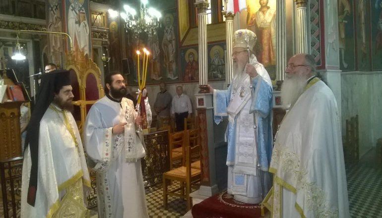 Η Κυριακή της Πεντηκοστής στον Ι. Ναό Αγίας Τριάδος Παναιτωλίου (ΦΩΤΟ)