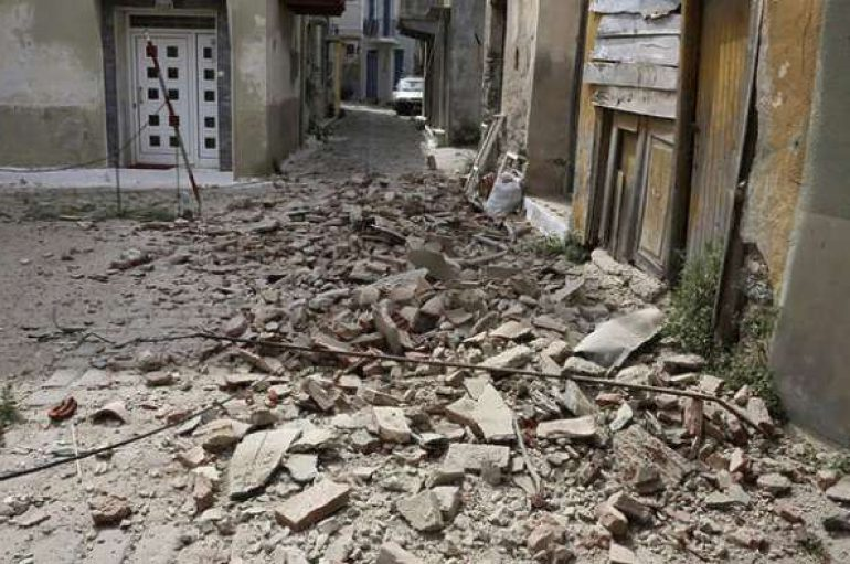 Καταστροφές σε εκκλησίες από το σεισμό στο Βόρειο Αιγαίο