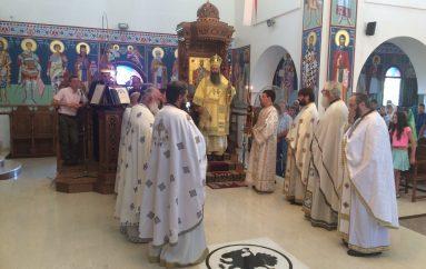 Πανηγύρισε ο πρώτος στην Ελλάδα Ενοριακός Ναός του Αγίου Παϊσίου (ΦΩΤΟ)