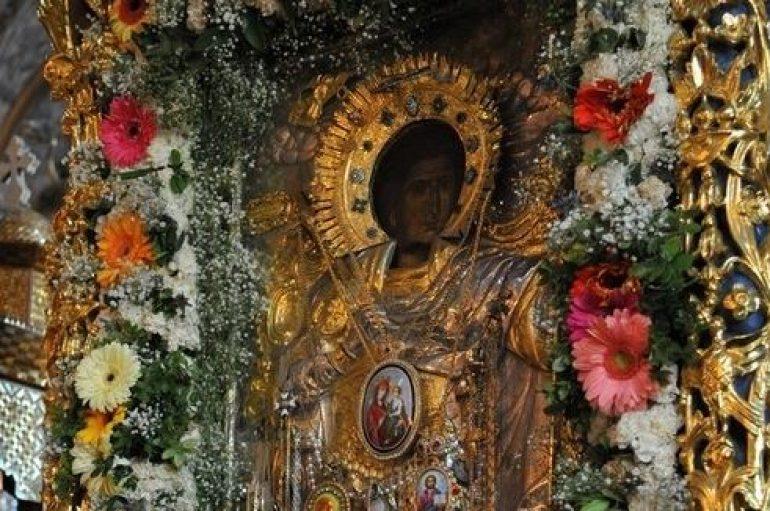 Εικόνα του Αγ. Γεωργίου από την Ι. Μονή Ξενοφώντος υποδέχθηκε η Ρωσία
