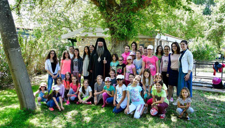 Συνεχίζεται η φιλοξενία παιδιών  στην Ι. Μονή Αγίου Γεωργίου Ρητίνης (ΦΩΤΟ)