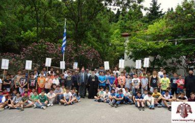 Ο Μητροπολίτης Σπάρτης τίμησε τον Τζ. Φιλιππάκο για την προσφορά του στις Κατασκηνώσεις