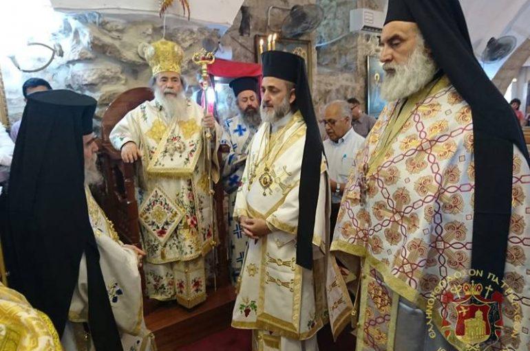 Ο Πατριάρχης Ιεροσολύμων στο Ζαμπάπδε Σαμαρείας (ΦΩΤΟ – ΒΙΝΤΕΟ)