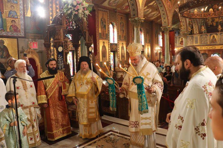 Πανηγύρισε η Ι. Μονή Αγίας Ειρήνης Χρυσοβαλάντου Αστόριας