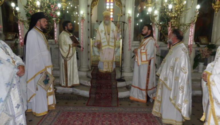 Ο εορτασμός της Αγίας Μαρίνας στην Ι. Μ. Κορίνθου (ΦΩΤΟ)