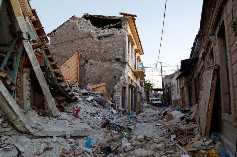 Αποκατάσταση ναών και σχολείου στη Λέσβο με δωρεά του Πάπα