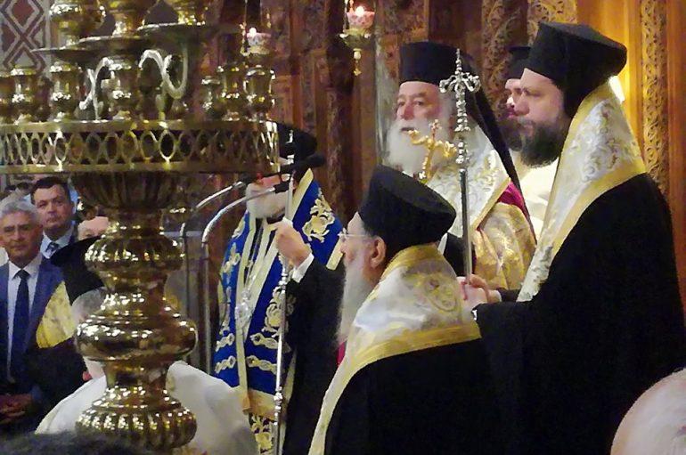 Ο Πατριάρχης Αλεξανδρείας στο Μνημόσυνο του Κων/νου Μητσοτάκη (ΦΩΤΟ)