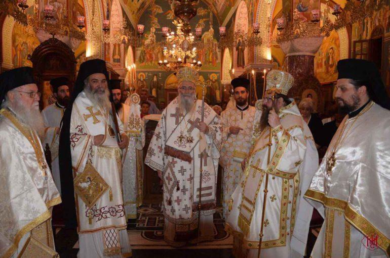 Η εορτή της Αγίας Μακρίνης στην Ι. Μονή Αγ. Ιωάννου Προδρόμου Μακρυνού (ΦΩΤΟ)