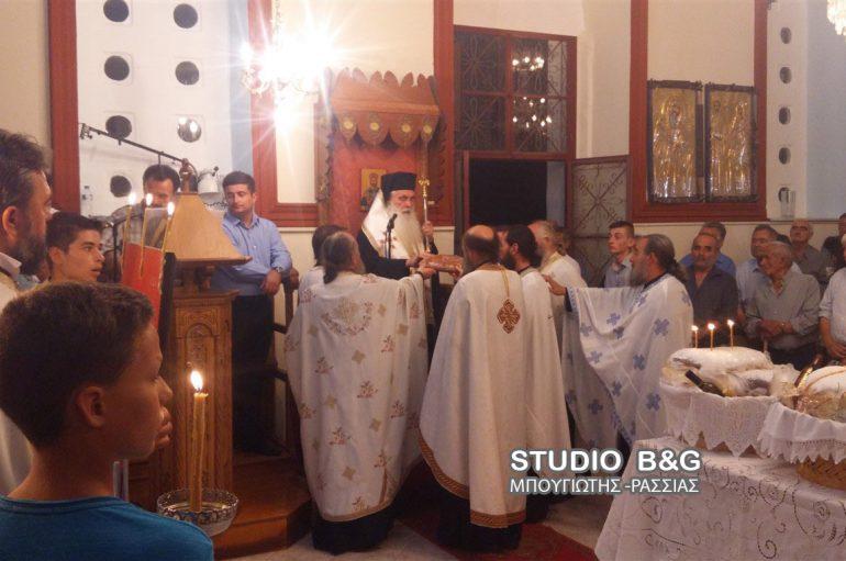 Αρχιερατικός εσπερινός του Αγίου Παντελεήμονος στην Ι. Μ. Αργολίδος (ΦΩΤΟ)