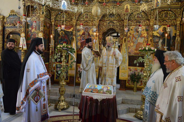 Η εορτή της Παναγίας Τριχερούσας στην Ι. Μ. Κυδωνίας (ΦΩΤΟ)