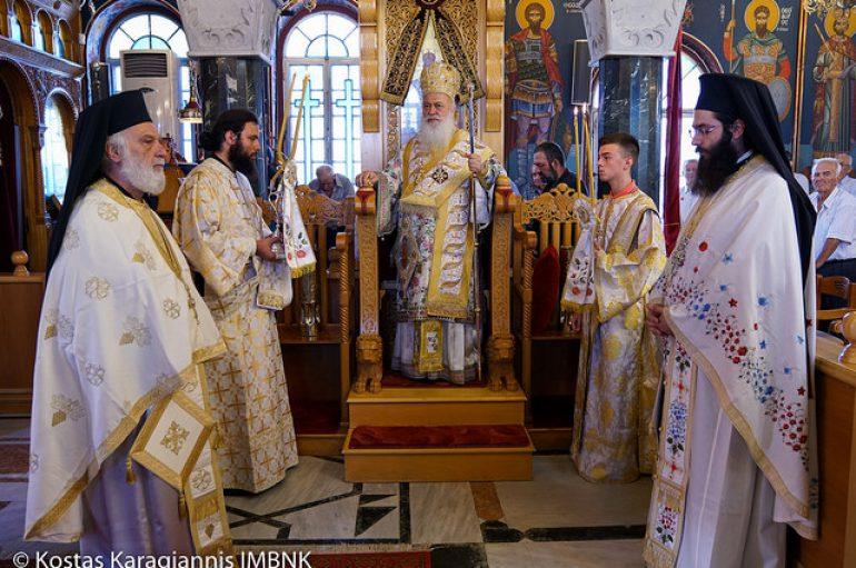 Πανηγύρισε ο Ιερός Ναός Αγίας Παρασκευής Μελίκης (ΦΩΤΟ)