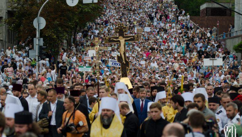 Χιλιάδες πιστοί στη Λιτανεία για την Ημέρα Βαπτίσματος των Ρως (ΦΩΤΟ – ΒΙΝΤΕΟ)