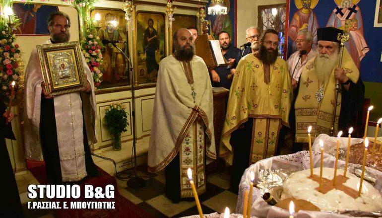 Αρχιερατικός εσπερινός της Αγίας Μαρίνας στον Ίναχο Αργολίδος (ΦΩΤΟ – ΒΙΝΤΕΟ)