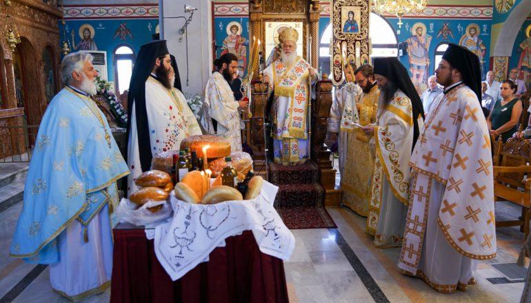 Η εορτή της Αγίας Ειρήνης της Χρυσοβαλάντου στην Ι. Μ. Βεροίας (ΦΩΤΟ)