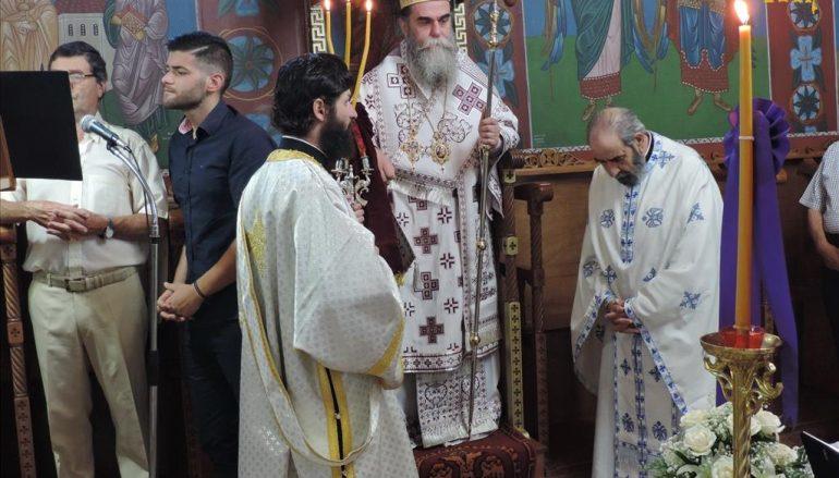 Αρχιερατική Θεία Λειτουργία στην Ενορία Δημαρίου Άρτης (ΦΩΤΟ)