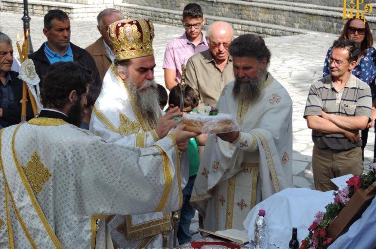 Η εορτή του Αγίου Παντελεήμονος στην Ι. Μ. Άρτης (ΦΩΤΟ)