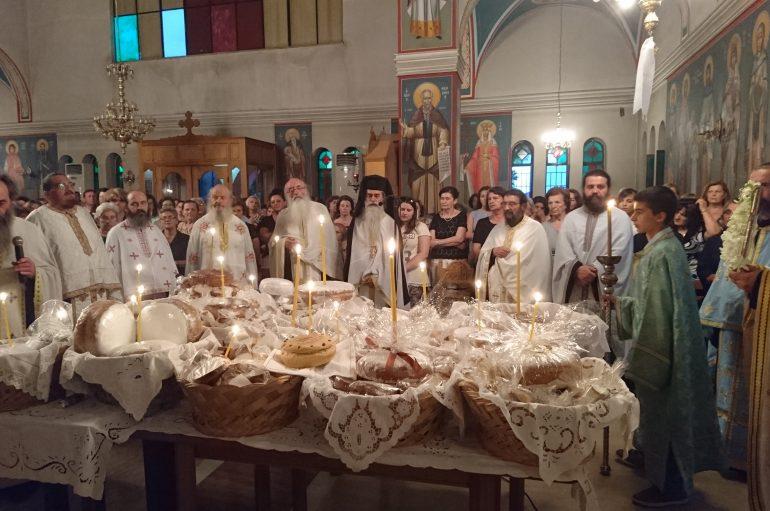 Εσπερινός του Αγίου Παϊσίου του Αγιορείτου στην Ι. Μ. Αιτωλίας (ΦΩΤΟ)