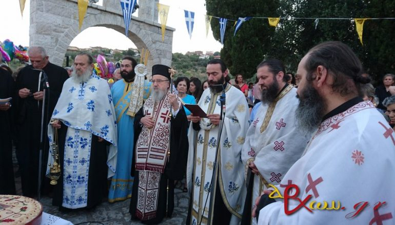 Πανηγύρισε το εξωκκλήσιο Παναγίας Βλαχέρνας Λεπενούς (ΦΩΤΟ)