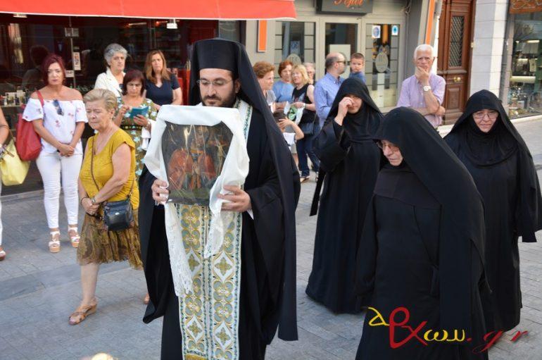 Η Τρίπολη υποδέχθηκε την Παναγία Θρηνωδούσα (ΦΩΤΟ)