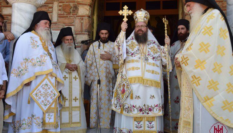 Πανηγύρισε η Ιερά Μονή Παναγίας Γαλακτοτροφούσης Μεγάρων (ΦΩΤΟ)