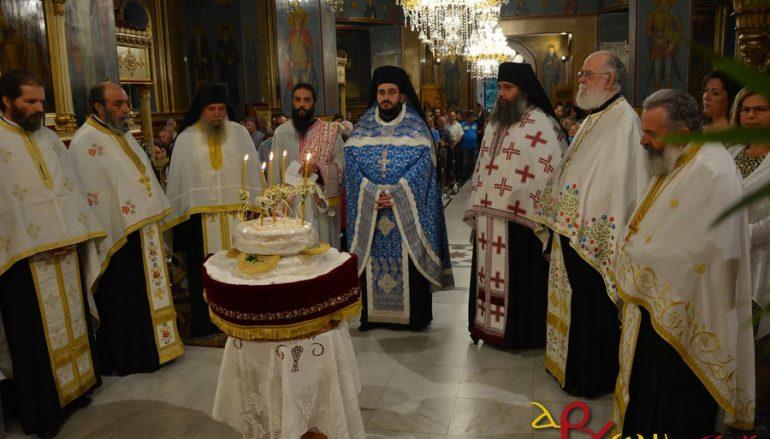 Πανηγυρικός εσπερινός στον Ι. Ναό Προφήτη Ηλία Τρίπολης (ΦΩΤΟ)