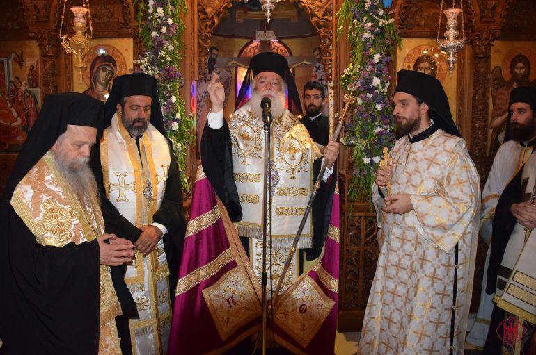 Ο Πατριάρχης Αλεξανδρείας  στο Μνημόσυνο της Γεροντίσσης Χριστονύμφης (ΦΩΤΟ)