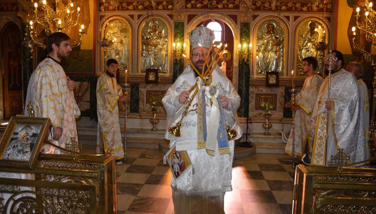Θεία Λειτουργία από τον Μητροπολίτη Μεγάρων στις Ερυθρές (ΦΩΤΟ)