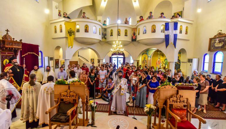 Ανάμνηση ευρέσεως των Ιερών Λειψάνων του Αγίου Ραφαήλ στην Ι. Μ. Λαγκαδά