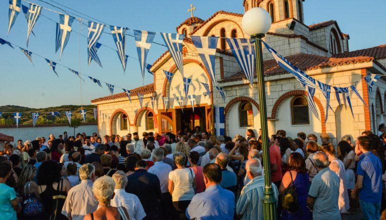 Η εορτή της Αγίας Κυριακής στην Ι. Μητρόπολη Λαγκαδά (ΦΩΤΟ)