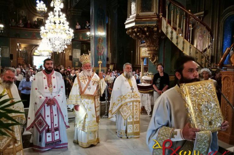 Ο Μητροπολίτης Μαντινείας στον Ι. Ναό Προφήτη Ηλία Τρίπολης (ΦΩΤΟ)