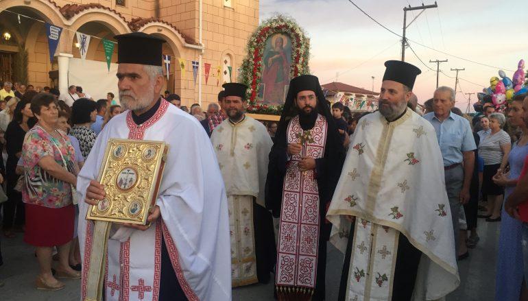 H Νύμφη του Χριστού Αγία Μαρίνα, εορτάστηκε στο Κατάραχι Πύργου (ΦΩΤΟ)