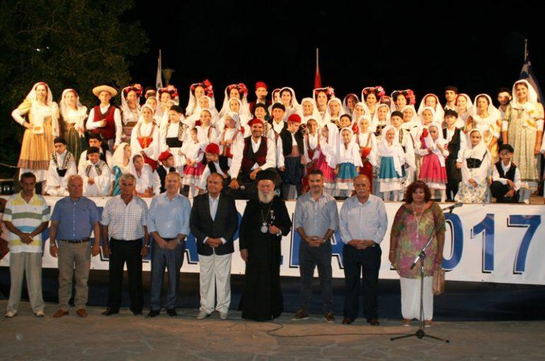 Ο Μητροπολίτης Χαλκίδος στην εκδήλωση για τα Κανάρεια (ΦΩΤΟ)
