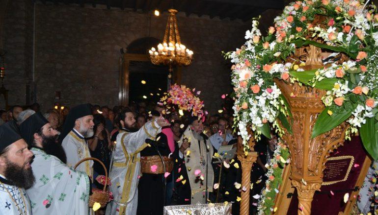 Προεόρτιος Αγρυπνία για την Πολιούχο Αγ. Παρασκευή στη Χαλκίδα (ΦΩΤΟ)