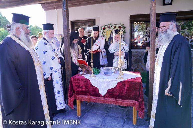 Θυρανοίξια Παρεκκλησίου του Αγ. Παϊσίου στην Ημαθία (ΦΩΤΟ)