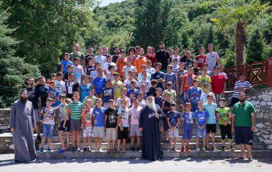Ξεκίνησε η φιλοξενία παιδιών στην Ι. Μονή Δοβρά (ΦΩΤΟ)