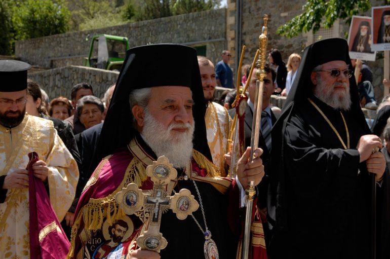 """Μητροπολίτης Κύκκου: """"Να ανεγερθεί ελληνική πρεσβεία απέναντι από το Μετόχι"""""""