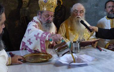 Εγκαίνια Ναού της Παναγίας στον αιματοβαμμένο Γράμμο (ΦΩΤΟ – ΒΙΝΤΕΟ)