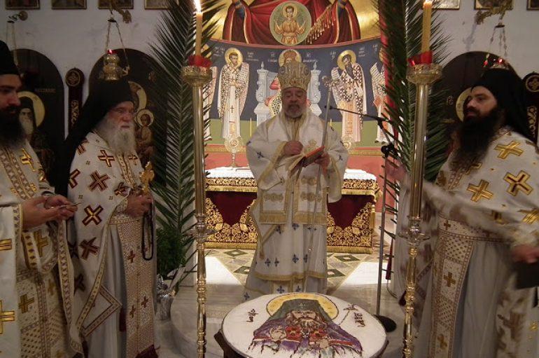 Ο Μητροπολίτης Ισπανίας στο Τρίκορφο Φωκίδος για τον Αγ. Ιωάννη Μαξίμοβιτς