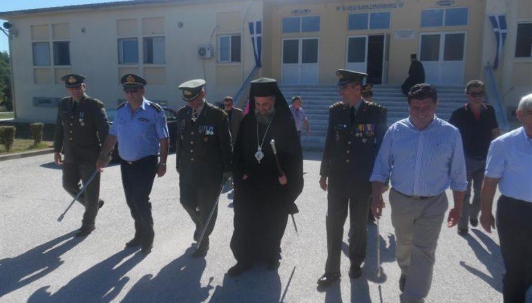 Ο Μητροπολίτης Θεσσαλιώτιδος στην αλλαγή Διοίκησης του ΚΕΣΝ (ΦΩΤΟ)
