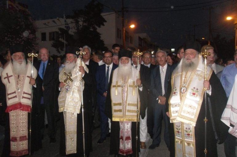 Με λαμπρότητα η Νάξος εόρτασε τον Πολιούχο της Άγιο Νικόδημο (ΦΩΤΟ)