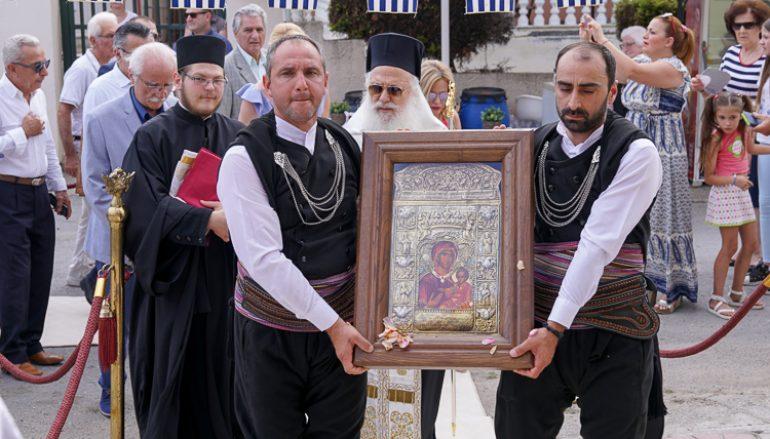 Η Χαρίεσσα υποδέχτηκε αντίγραφο της Ι. Εικόνος της Παναγίας Σουμελά (ΦΩΤΟ)