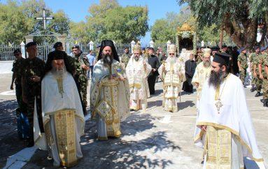 Λαμπρός ο εορτασμός της Αγίας Μαρκέλλας στη Χίο (ΦΩΤΟ)