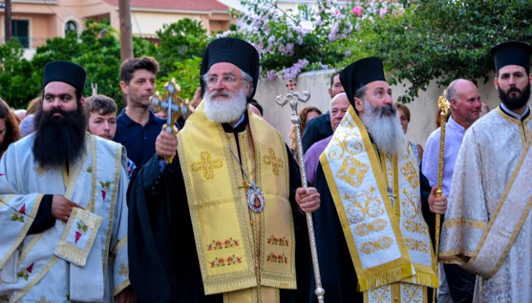 Λαμπρός ο εορτασμός της Αγίας Ευφημίας στην Κεφαλλονιά (ΦΩΤΟ)