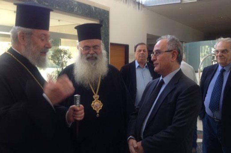 """Μητροπολίτης Πάφου: """"Περικλείει κινδύνους η Διάσκεψη για την Κύπρο"""" (ΒΙΝΤΕΟ)"""
