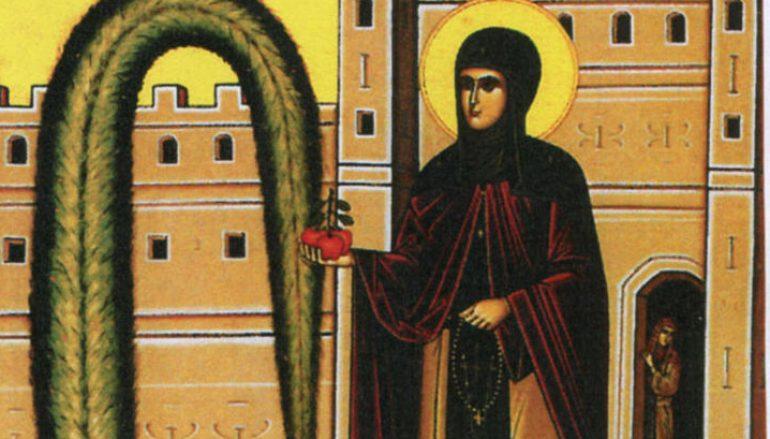 Ο βίος της Αγίας Ειρήνης Χρυσοβαλάντου