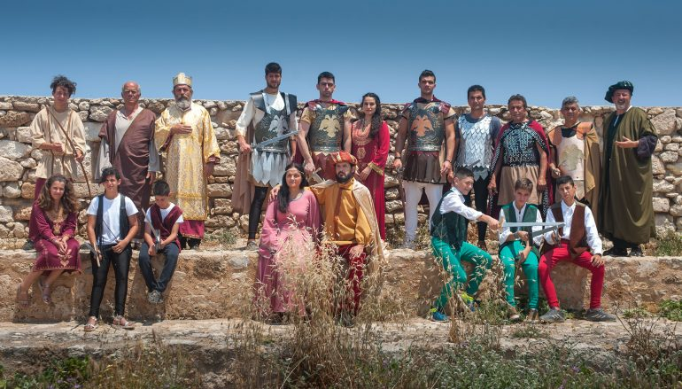 «Διγενής Ακρίτας» από την θεατρική ομάδα της Ι. Μ. Ρεθύμνης (ΦΩΤΟ)