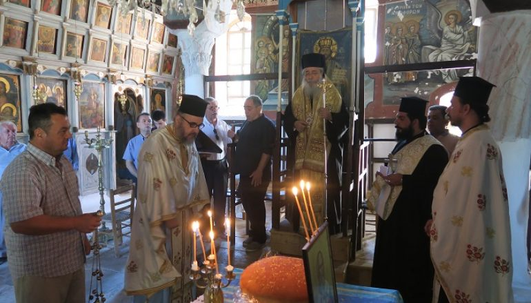 Η εορτή του Αγίου Μιχαήλ Χωνιάτου στην Ι. Μ. Φθιώτιδος (ΦΩΤΟ)