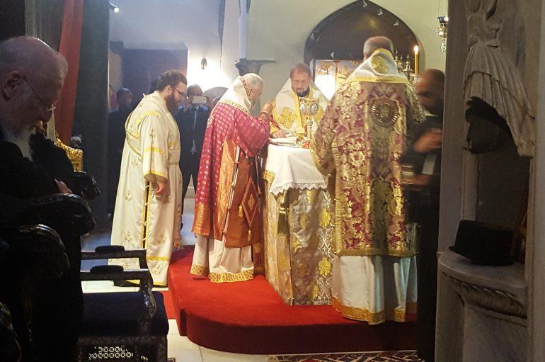 Τριετές Μνημόσυνο του Λύστρων Καλλινίκου στον Πατριαρχικό Ναό (ΦΩΤΟ)
