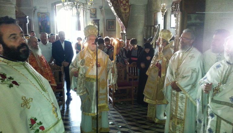 Πανηγύρισε η Πατριαρχική Μονή Προφήτου Ηλιού Ρουστίκων (ΦΩΤΟ)